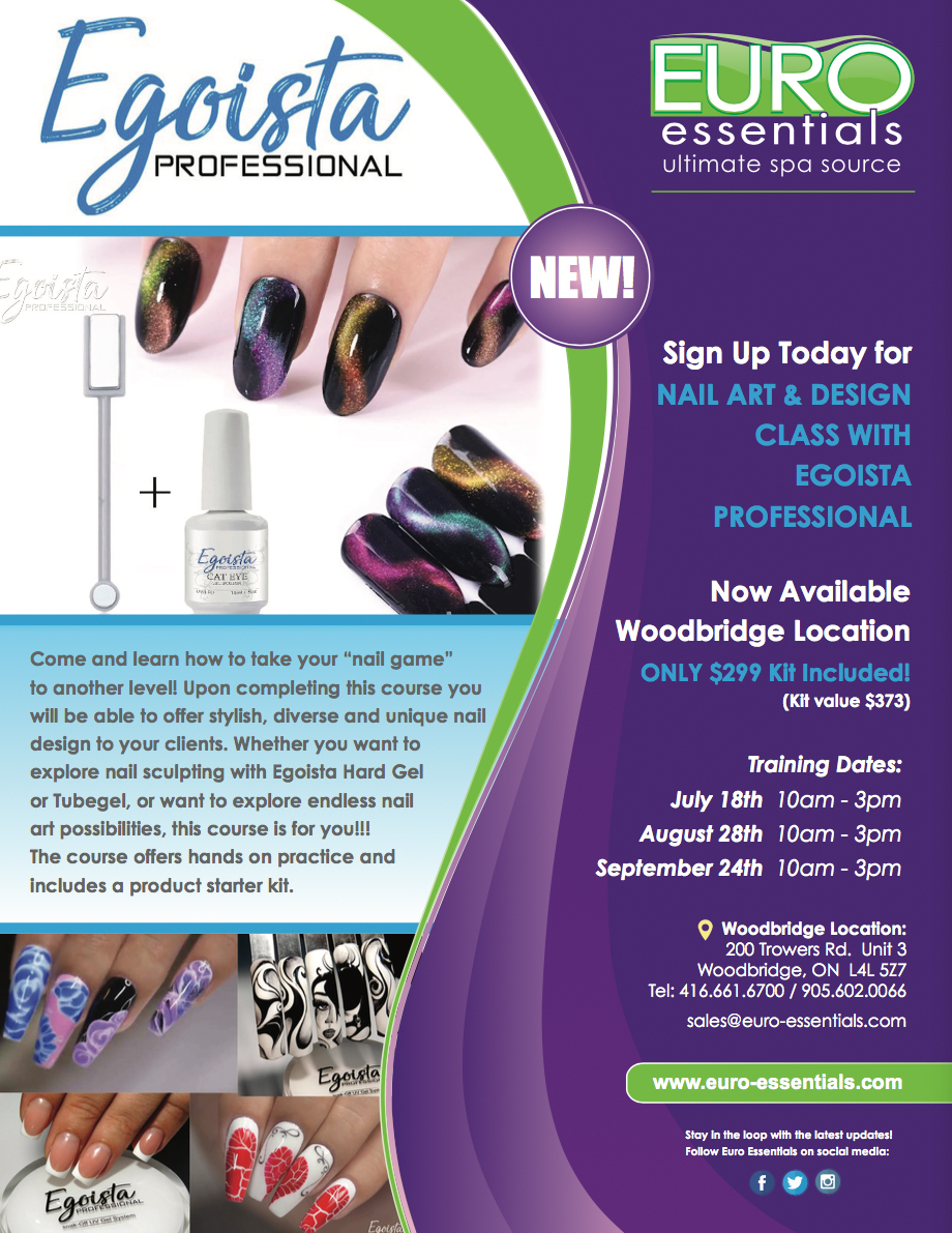 Sign Up Today For Nail Art Design Class With Egoista Professional